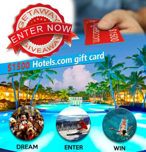 $1500 Hotels.com Gift Card Giveaway - Choose Branson